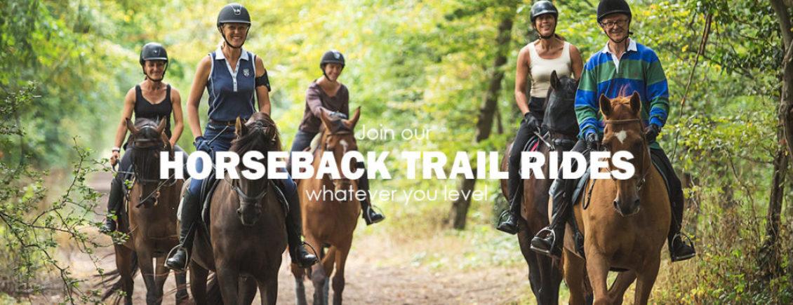HOME HORSEBACK TRAIL RIDES