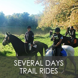 SEVERAL DAYS TRAIL RIDES