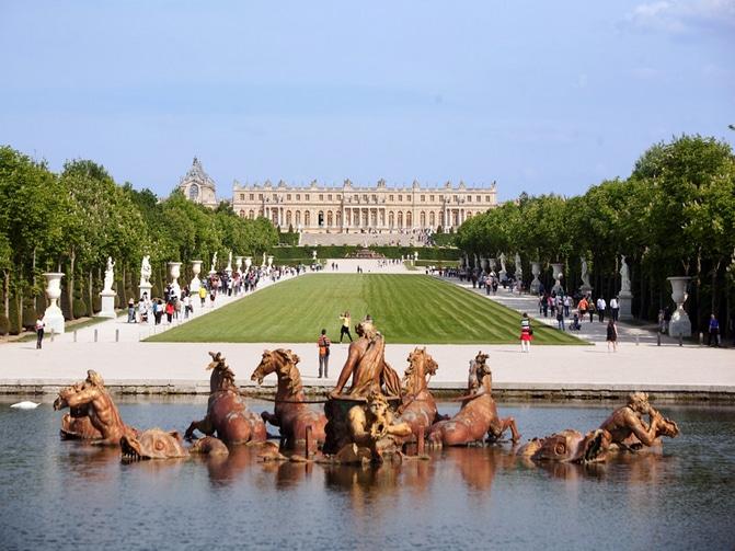 Super Discover the beautiful Versailles castle park on horseback AX59